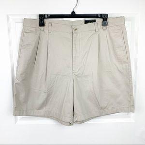 Greg Norman Men's Khaki Shorts